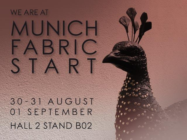Munich Fabric Start - Settembre 2016